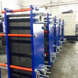 泳池恒温专用可拆板式换热器 海水恒温钛材板式换热器 钛板