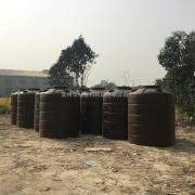 厂家定制出口3T雨水收集罐家用生活储罐平底储罐抗氧化