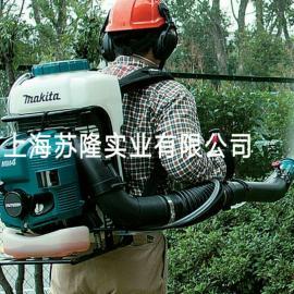 日本牧田PM7650H汽油喷雾器 背负式喷雾机喷粉机打药机四冲程