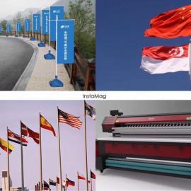 环保大型旗帜机厂家供应热升华旗帜机双面条幅机户内外写真机