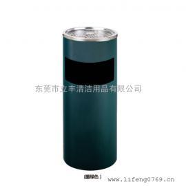 LF-B35-A丽格座地果皮箱 圆形不锈钢垃圾桶 东莞不锈钢垃圾桶