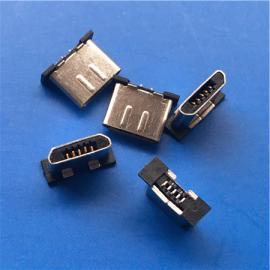 5P安卓无线充公头MICRO无线充电 立贴公头SMT贴片 贴板