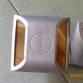 全铝实心道钉 铸铝带钉道钉 公路突起路标 反光突钉 交通设施