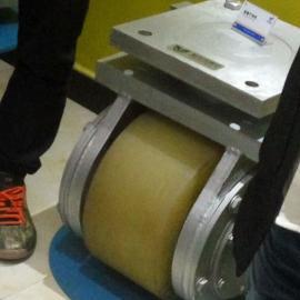 包胶轮生产工艺万向轮规格可定制直流电机驱动轮 被动从动轮