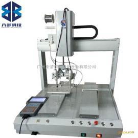 5441R双平台双烙铁自动焊锡机