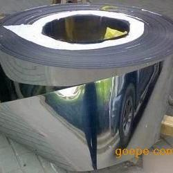 长期生产304超薄韧性好镜面不锈钢带