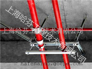 消防喷淋单管侧向双向抗震支架