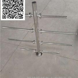 生物滤池布水器装置 不锈钢V型中排布水器 混床 离子交换器