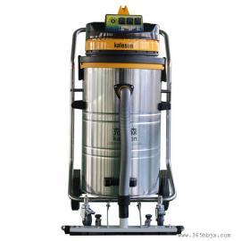 工业吸尘器BP3-78L 推吸式干湿两用吸尘器 仓库地面清理吸尘器