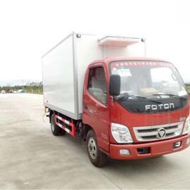 福田4米2厢长冷藏车价格