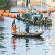 塑料管道浮筒抗老化清淤船塑料浮筒厂家