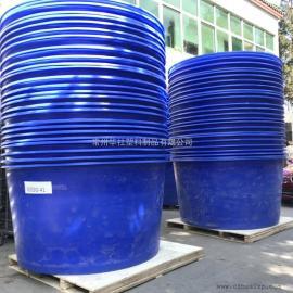 射阳M2000L塑料圆桶包装桶搅拌桶养殖桶厂家