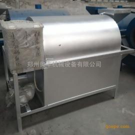 小型电加热滚筒式板栗炒货机 多功能电加热滚筒炒锅