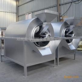 100斤电加热滚筒炒锅 电加热干货炒货机