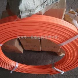 行车供电滑触线 10平方3极柔性滑导线 拨叉 电轨滑线