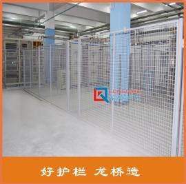 龙桥护栏厂*生产 隔离栅防护网 护栏网生产车间