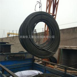 卷扬机提升钢丝绳6*37-FC15 电梯专用拽引钢绳 吊装工具索具