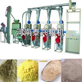 杂粮加工设备-全自动杂粮加工设备机组