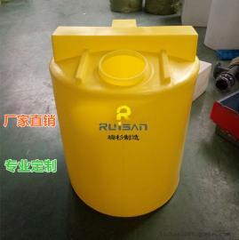南京500L搅拌桶,塑料带电机洗洁精洗衣液搅拌罐,耐酸碱加药箱