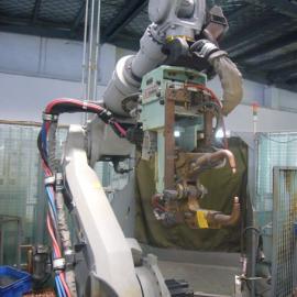 山东锡点焊机器人生产公司 焊接机器人工作站
