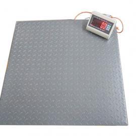 1.2*1.2米10顿电子地磅带打印 1-10吨单层小地秤耀华