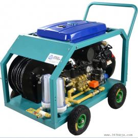 下水管道疏通机KQ-200B克莱森汽油型高压冲洗管道疏通机
