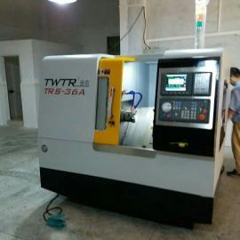 台湾台荣高速CNC小型TRS-36数控机床斜床身车铣复合数控电脑机
