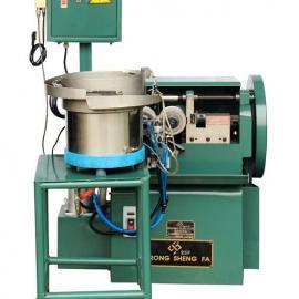 台荣厂家销售 RSF-3T东莞油压滚牙机 小型短料自动化下料滚丝机