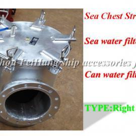 CBM1061-81海水滤器-直角海水滤器-角式海水滤器