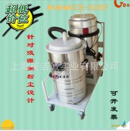 工业级专用吸尘机双桶布袋机木工机械双桶不锈钢桶吸尘器