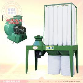 24袋中央布袋吸尘机 木业机械滤袋集尘器 工业集尘收尘设备5.5KW