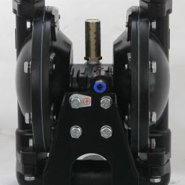 专业供应QGB-15型铝合金泵壳四氟乙烯膜片气动隔膜泵