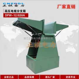 10KV欧式电缆分接箱DFW-12一进三出