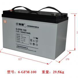 复华蓄电池 6-gfm-100 =上海复华 报价咨询
