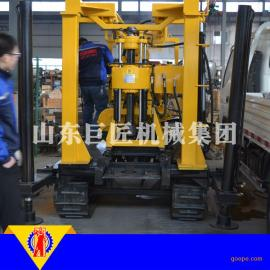华夏巨匠供应200米履带式岩心钻机 小型打井机XYD-200省时省力