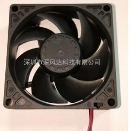 替代EBM-8412NGMLV-80x80x25mm散热风扇