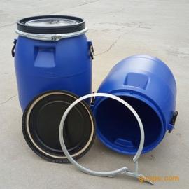 全新料PE材�|60升塑料桶法�m抱箍60公斤塑料桶液�w固�w�S�