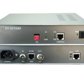 汉源高科2M/E1协议转换器 2M/E1转以太网E1网桥2M网桥