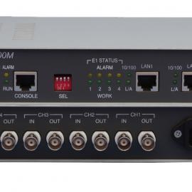 4路E1转2路以太网2M/E1协议转换器 2M/E1转以太网E1网桥2M网桥