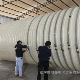 50吨PE储水桶/50立方PE桶