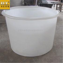 永州景观金鱼养殖圆桶 500公斤锥底育苗孵化圆桶