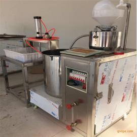 现货销售花生豆腐机全自动豆腐机 型号全自动磨浆煮浆小型豆腐机