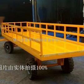 佛山鑫升力厂家专业定制平板拖车货物装卸车