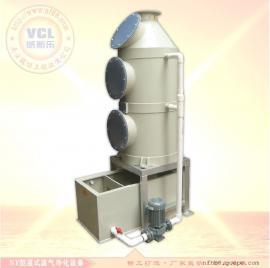 湿式喷淋填料除尘塔|烟尘废湿法处理塔|水洗塔设备