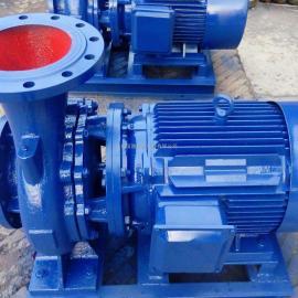 卧式热水循环泵管道泵