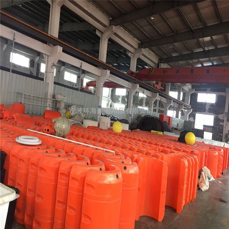 疏浚塑料浮筒抽沙管道专用实心浮筒批发