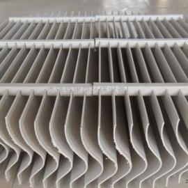 玻璃钢脱硫塔除雾器 PP折板除雾器