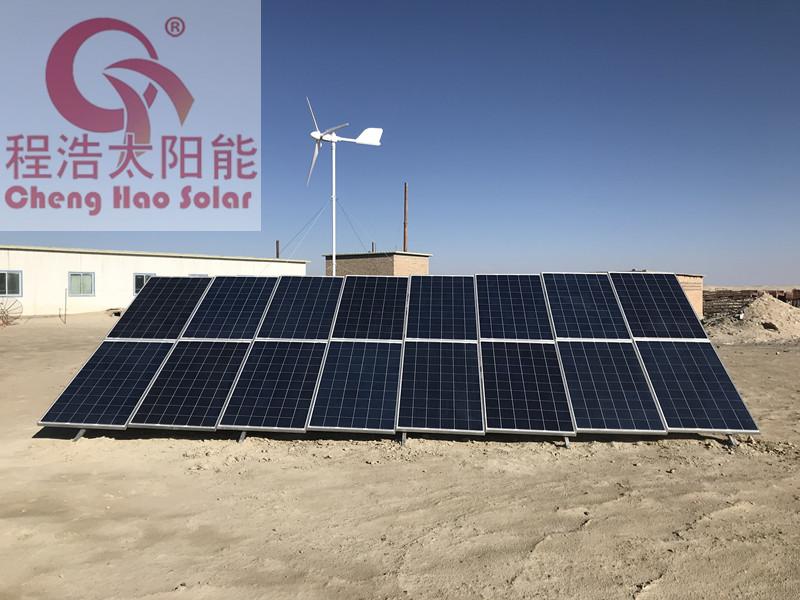 青海 甘肃 兰州 酒泉 5kw风光互补发电 5000w风力发电机