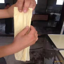 直销手动全自动控温腐竹油皮机 节能环保型豆油皮机
