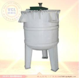 塑料化工反应罐 PP/PVC聚丙烯搅拌槽缸订制加工
